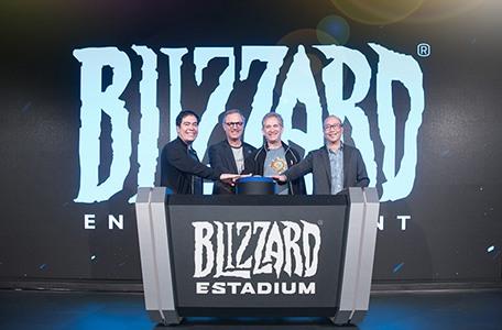 Tham quan Blizzard eStadium mới khai trương tại Đài Bắc 1