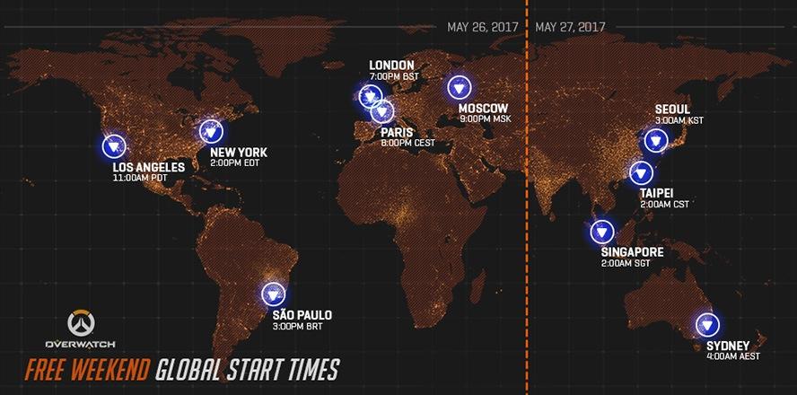 Overwatch mở cửa miễn phí từ 27/5 đến 30/5/2017