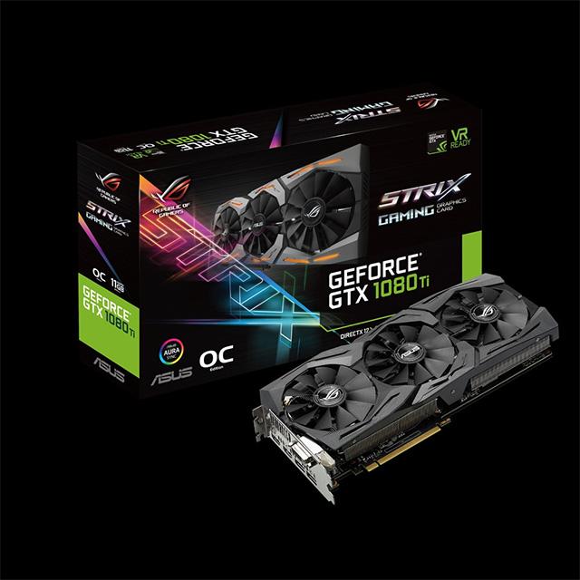 ROG Strix GTX 1080 Ti OC Edition