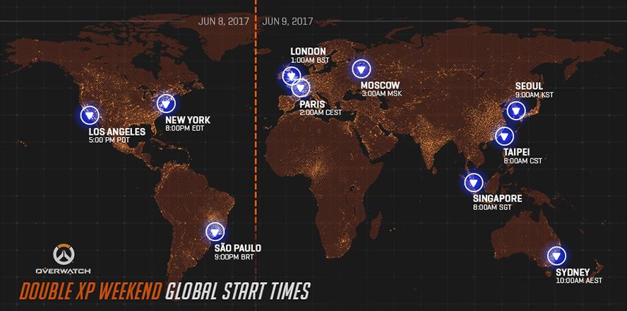 Overwatch mở nhân đôi kinh nghiệm vào cuối tuần này - Ảnh 1