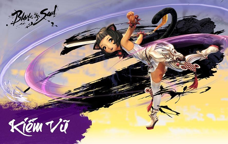 Kiếm Vũ (Blade Dancer) trong Blade & Soul