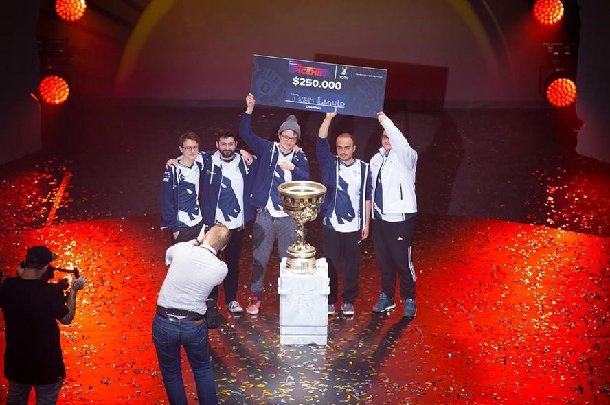 Vô địch EPICENTER 2017, Liquid nhận 5,7 tỉ đồng