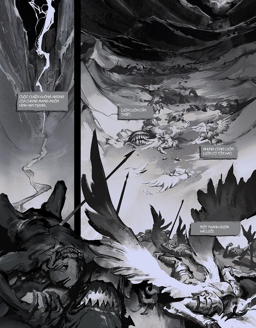 Truyện tranh Liên Minh Huyền Thoại: Ánh Sáng - Bóng Tối - Ảnh 3