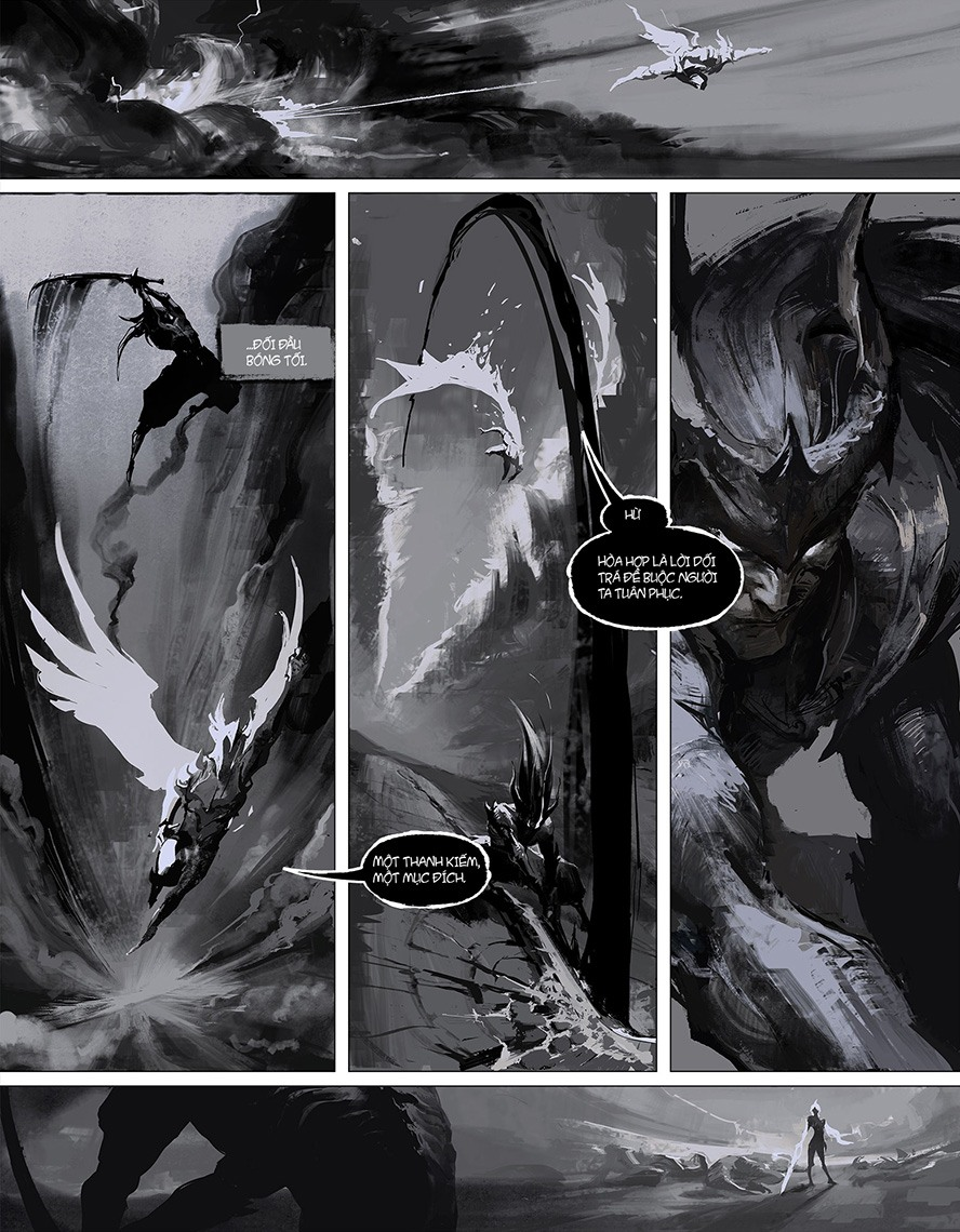 Truyện tranh Liên Minh Huyền Thoại: Ánh Sáng - Bóng Tối - Ảnh 5