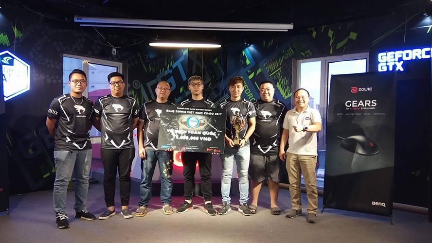 Sabertooth vô địch BenQ Zowie Việt Nam CS:GO 2017 1