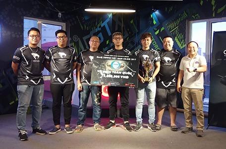 Sabertooth vô địch BenQ Zowie Việt Nam CS:GO 2017