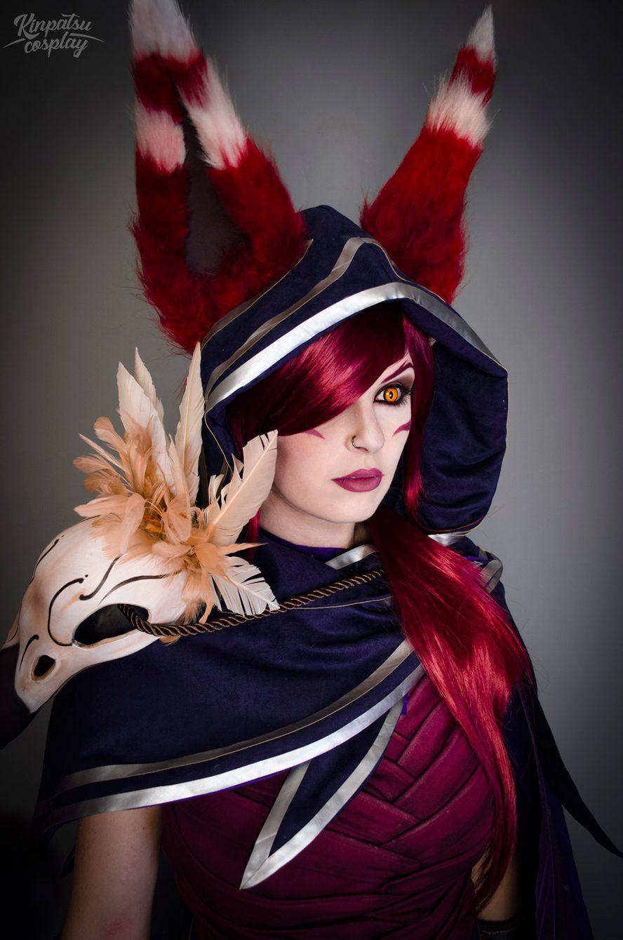 Ngắm cosplay Xayah cực quyến rũ của Kinpatsu - Ảnh 2