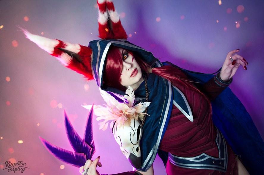 Ngắm cosplay Xayah cực quyến rũ của Kinpatsu - Ảnh 5