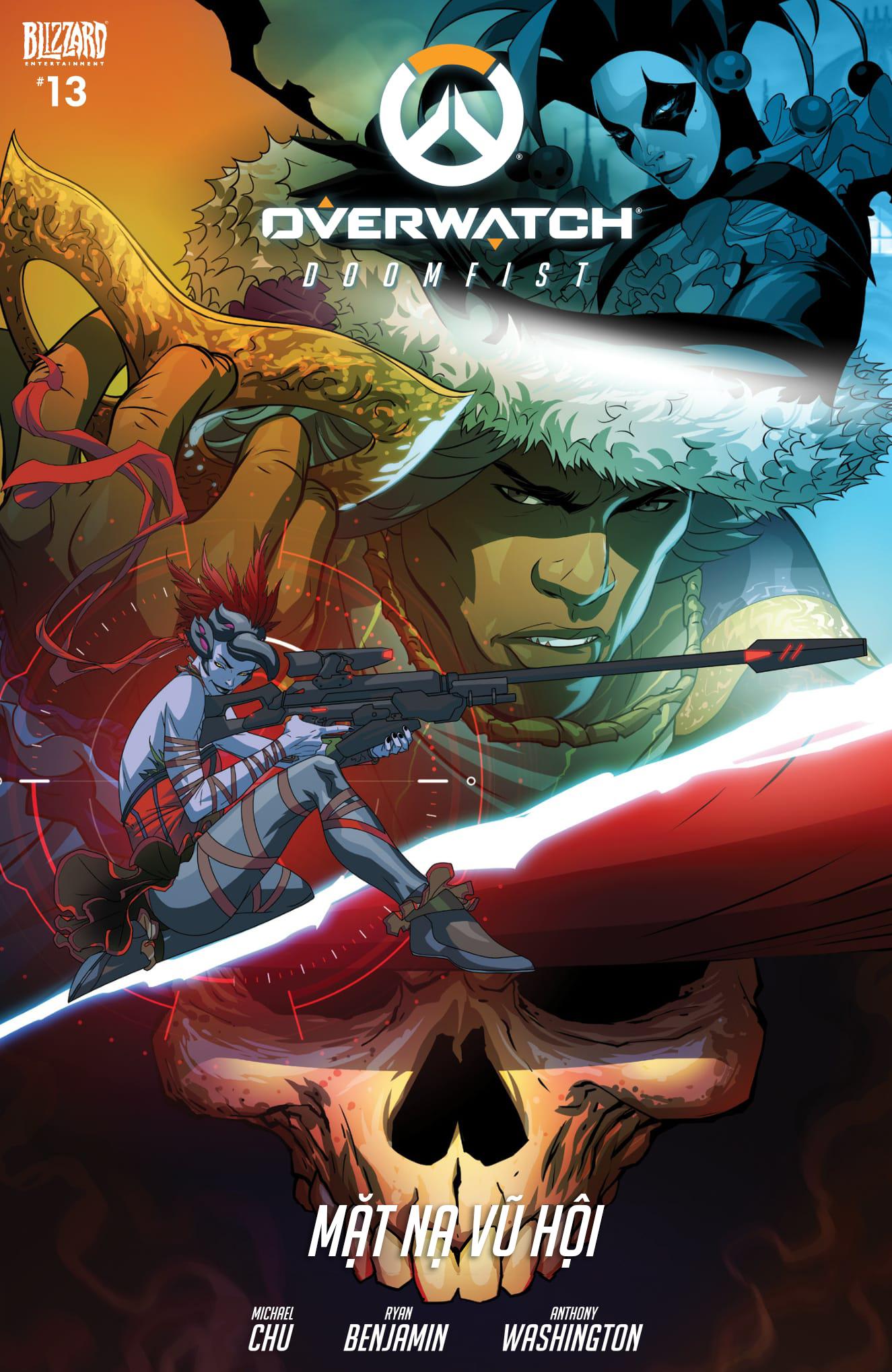 Overwatch Comic Masquerade - Ảnh 1