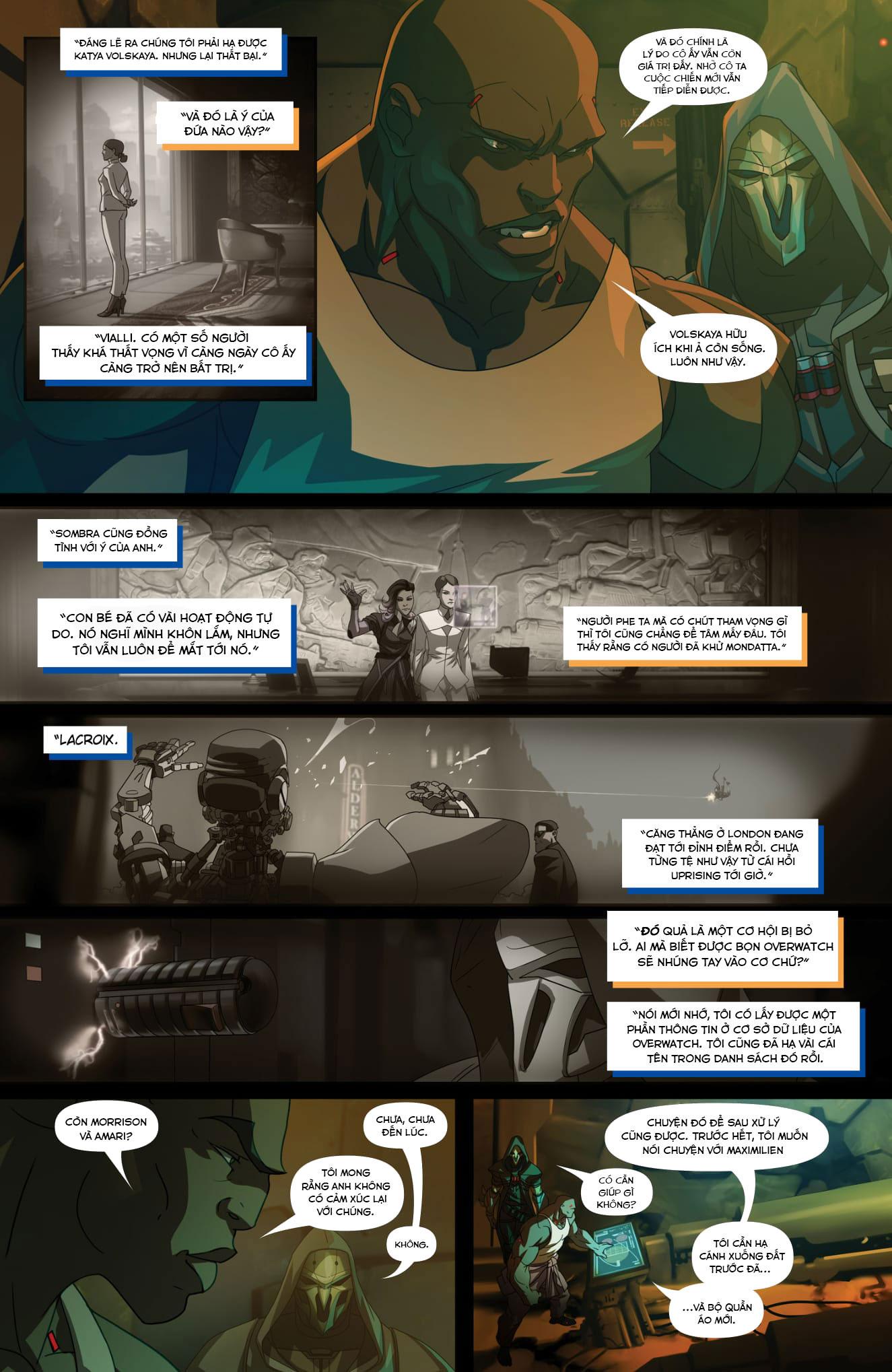 Overwatch Comic Masquerade - Ảnh 4