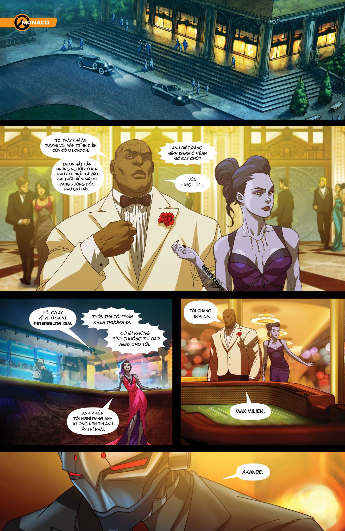Overwatch Comic Masquerade - Ảnh 5