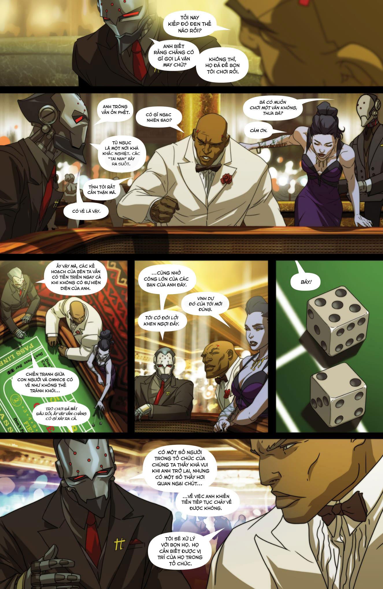 Overwatch Comic Masquerade - Ảnh 6