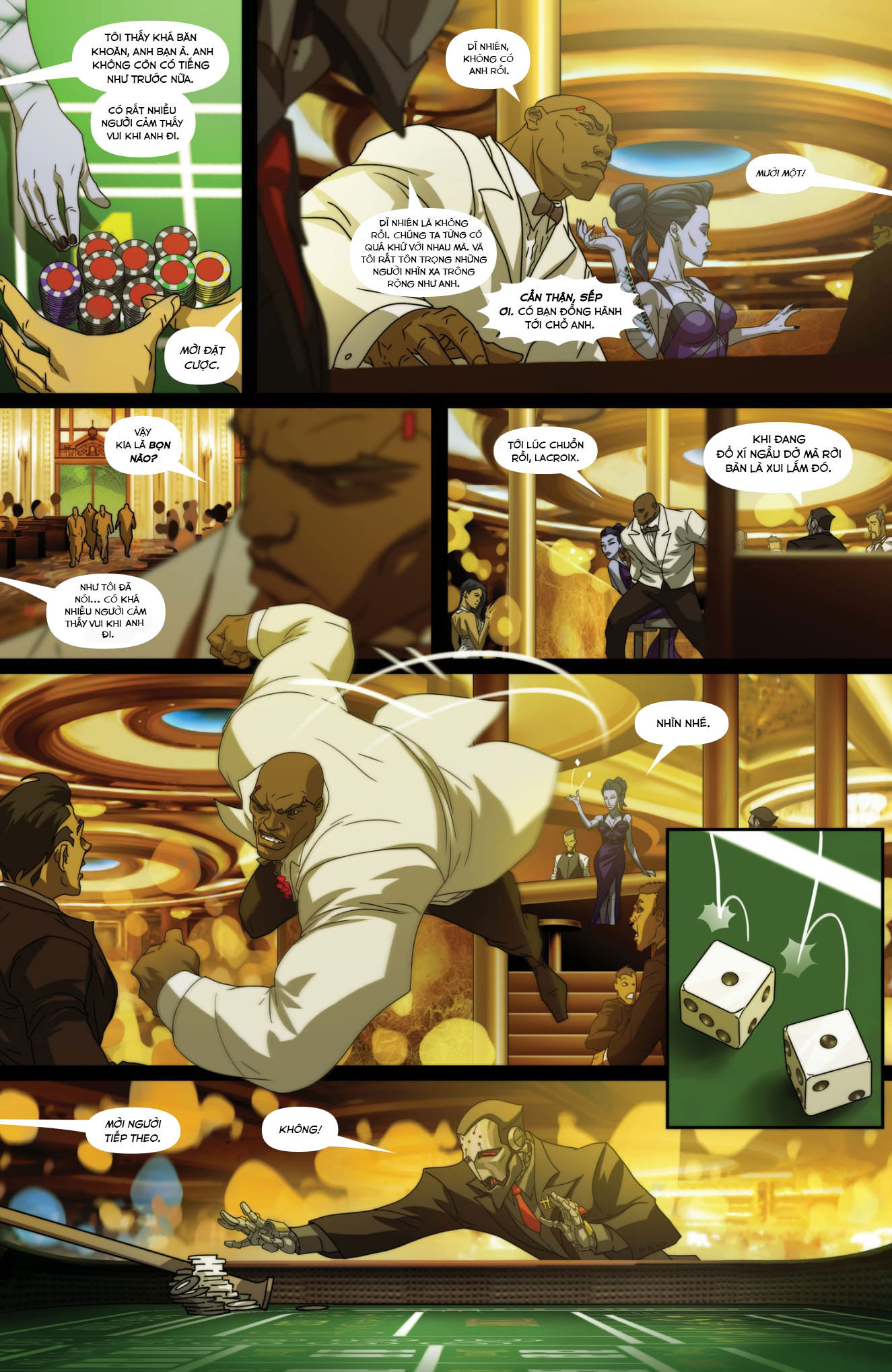 Overwatch Comic Masquerade - Ảnh 7