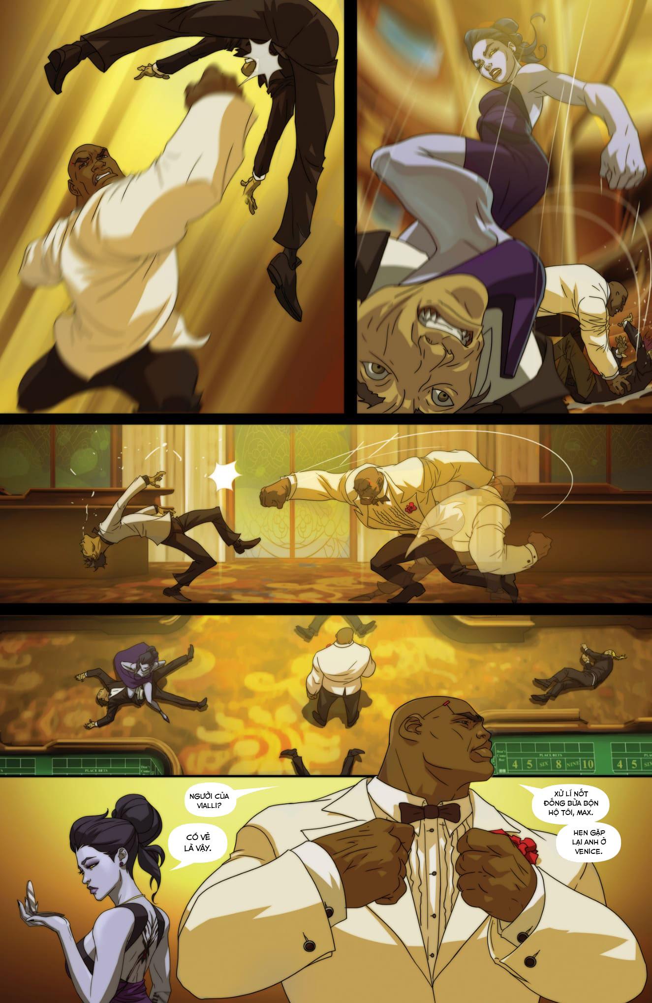 Overwatch Comic Masquerade - Ảnh 8