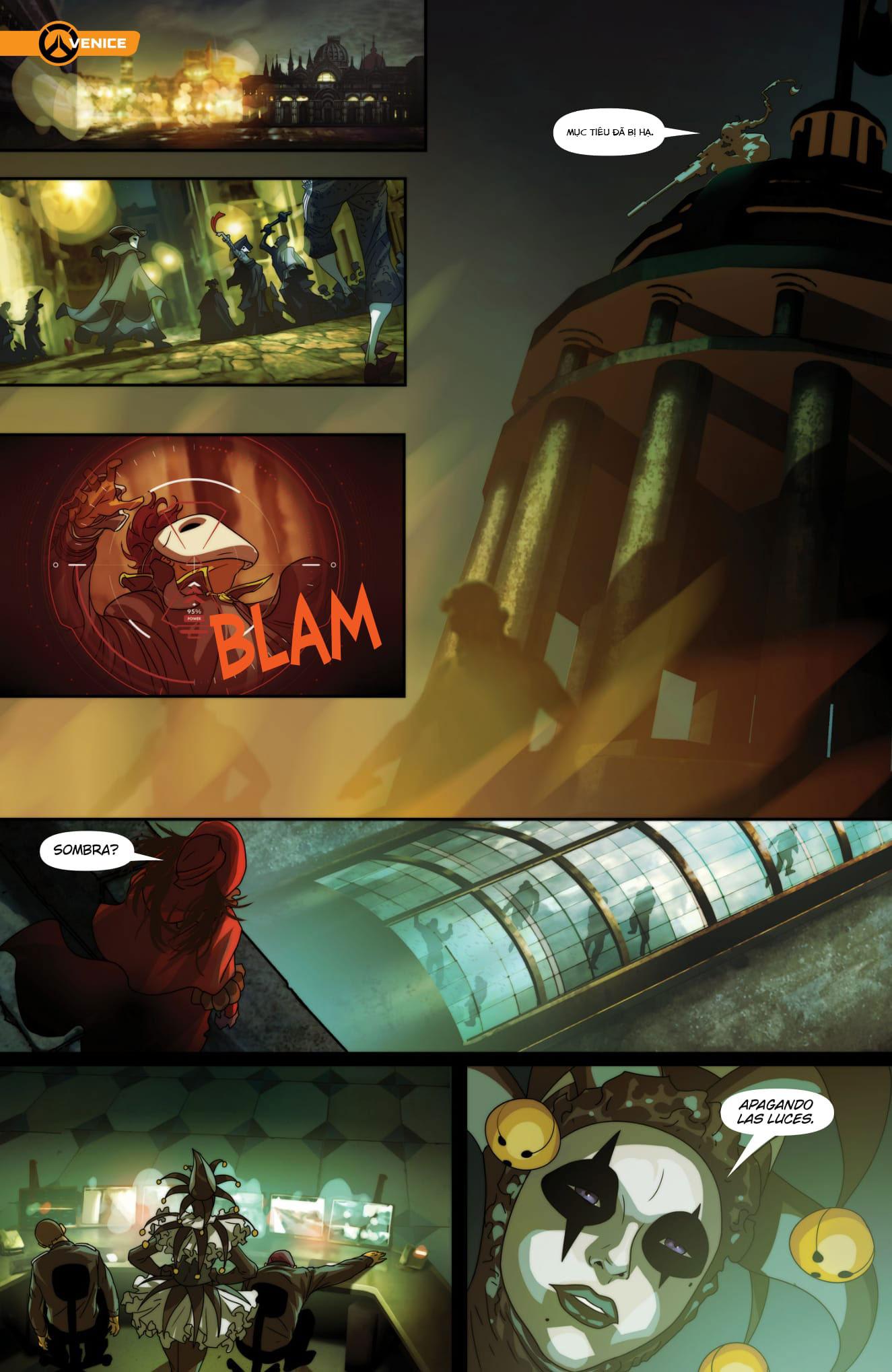 Overwatch Comic Masquerade - Ảnh 9
