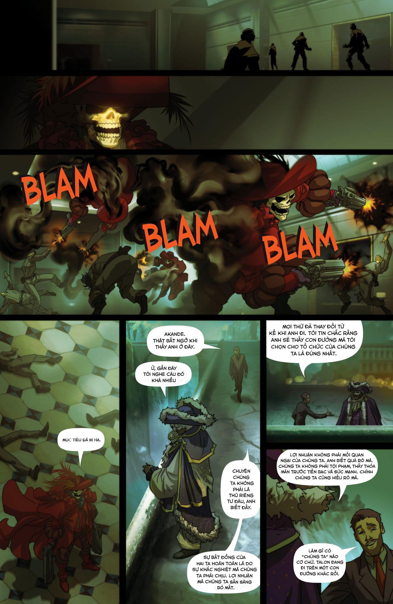 Overwatch Comic Masquerade - Ảnh 10
