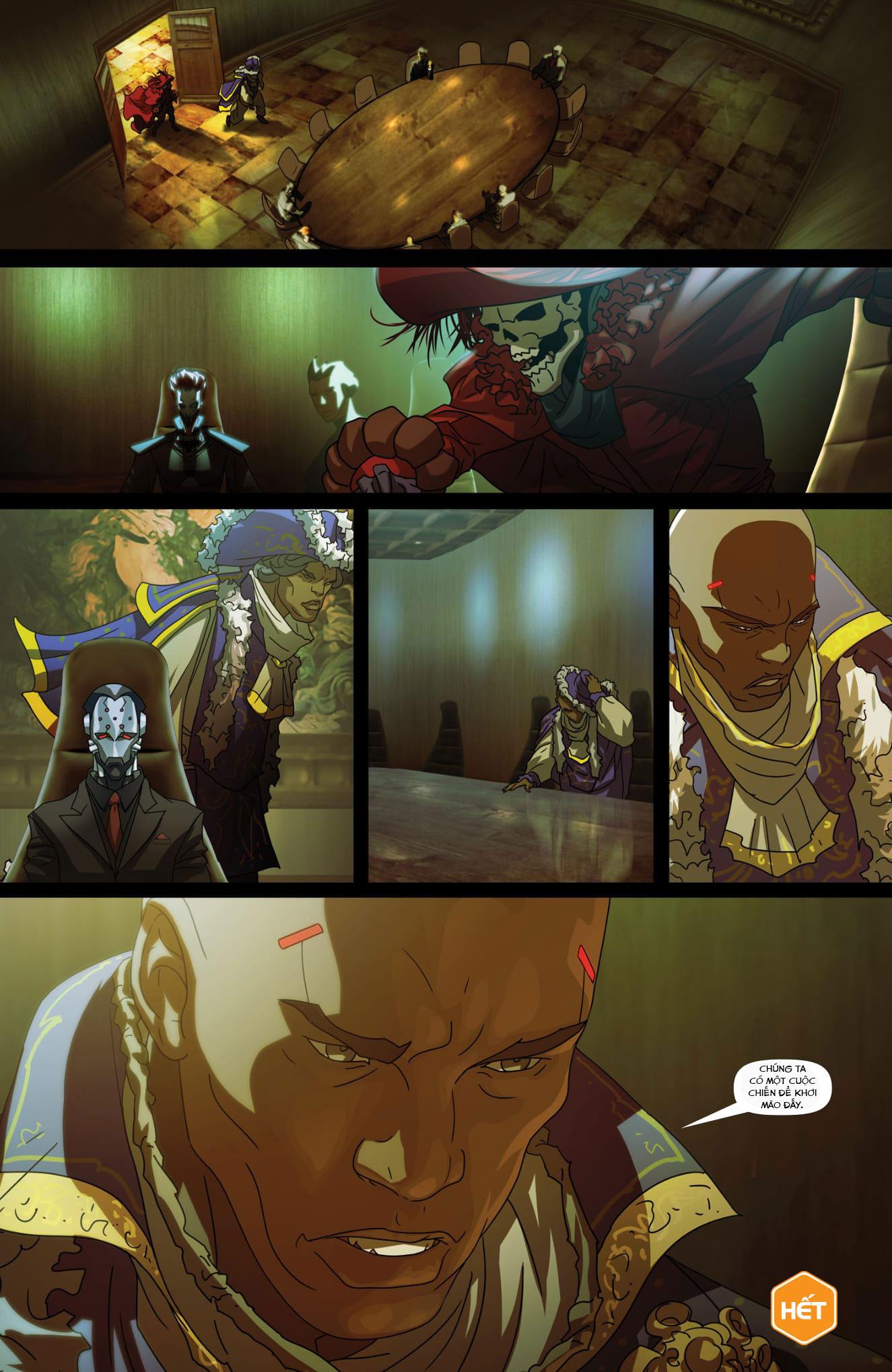 Overwatch Comic Masquerade - Ảnh 12