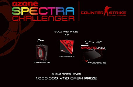 Ozone Gaming công bố Ozone Spectra Challenger 2017 6