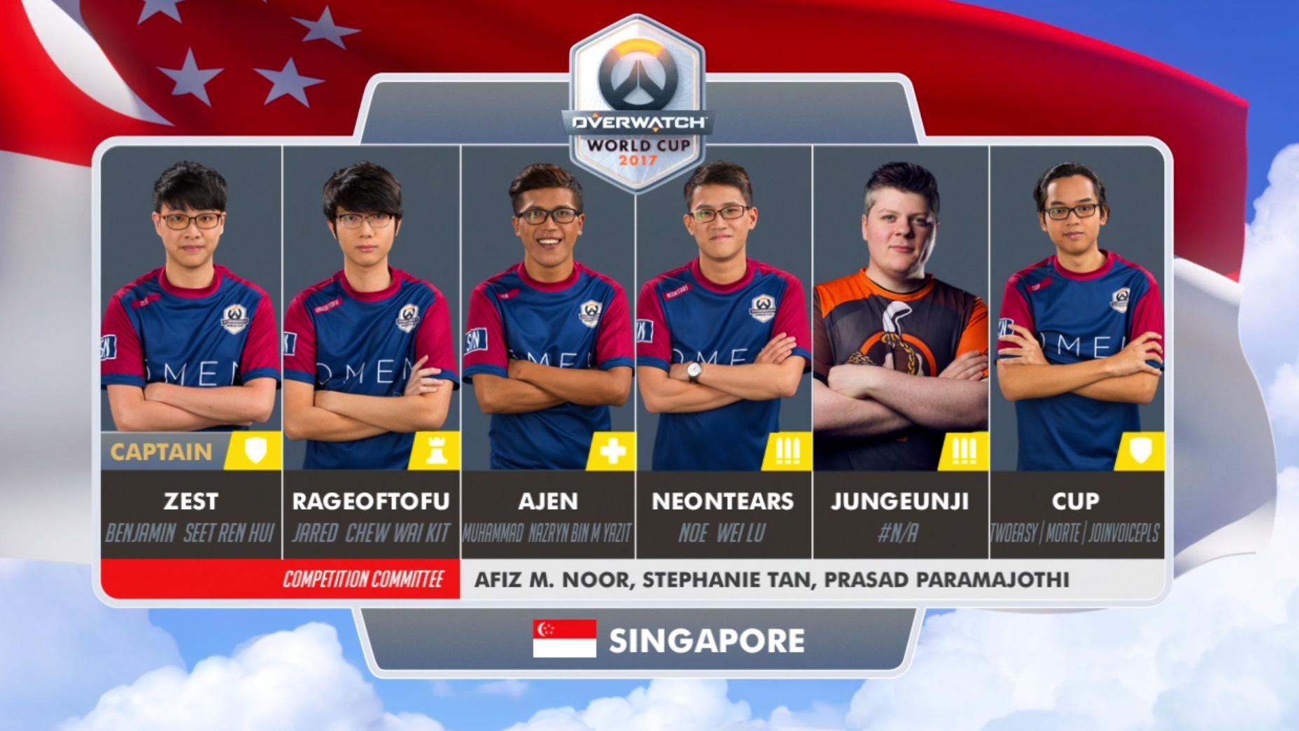 Lịch thi đấu Overwatch World Cup 2017: Bảng E và F 7