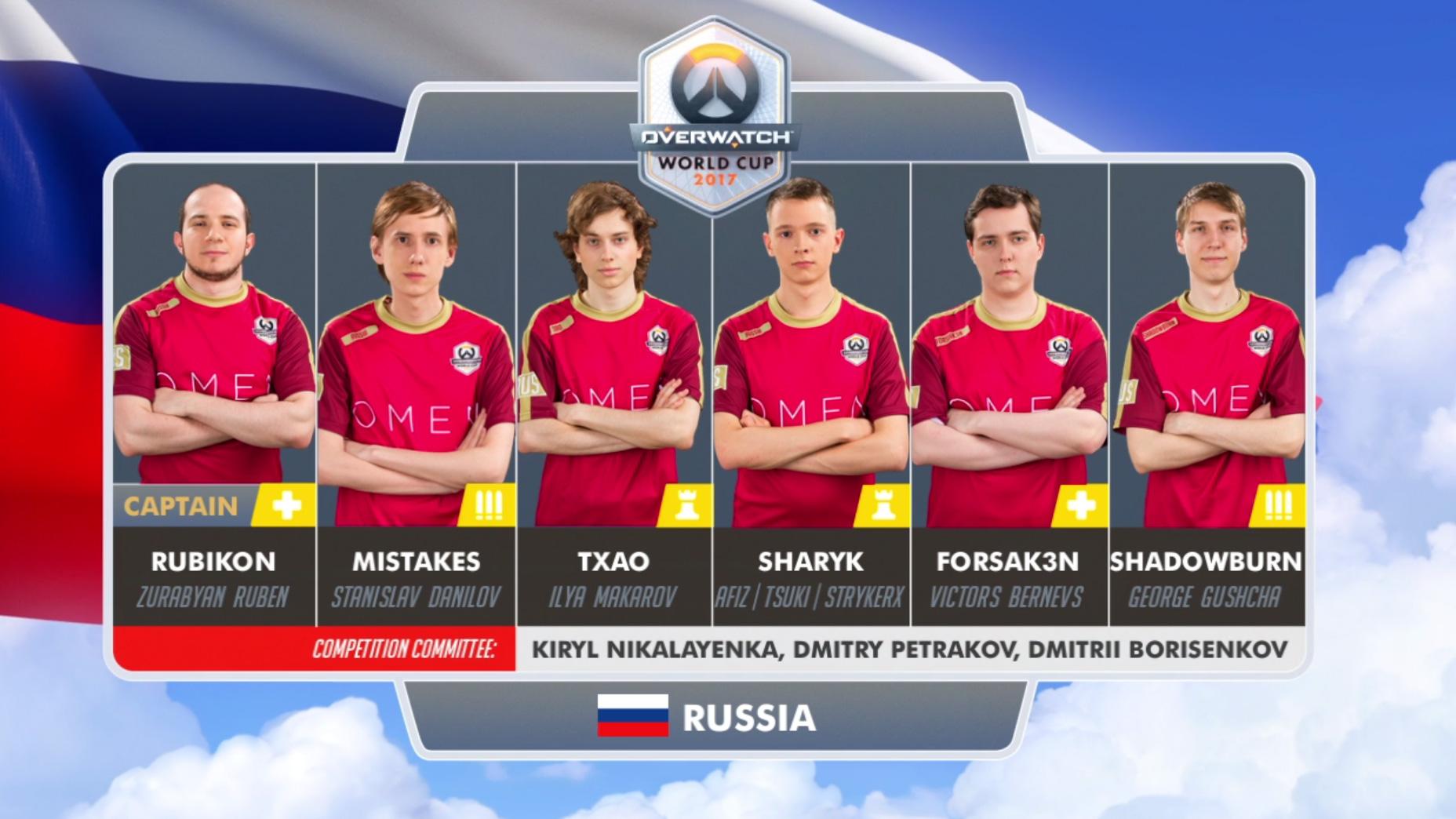 Lịch thi đấu Overwatch World Cup 2017: Bảng E và F 6