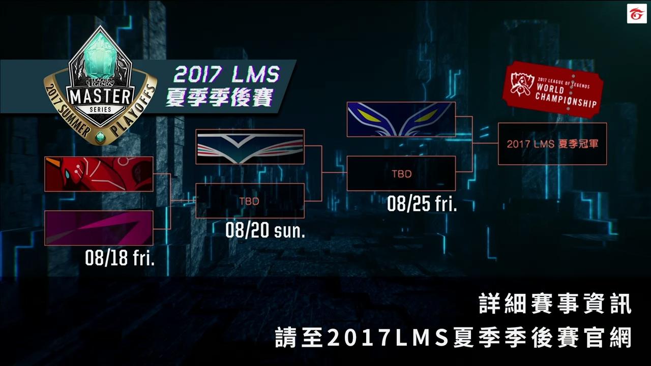 Lịch thi đấu Playoffs LMS Mùa Hè 2017