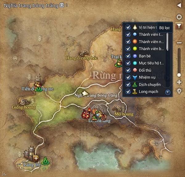 Hệ thống bản đồ trong Blade & Soul - Hình ảnh 3