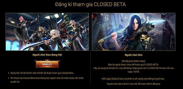 Blade & Soul thử nghiệm Closed Beta vào ngày 18/08 - Hình ảnh 4