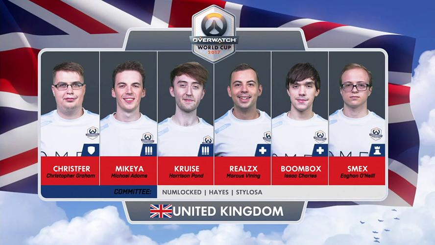Overwatch World Cup 2017 - Vương Quốc Anh