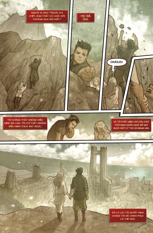 Truyện tranh Darius - Dòng máu Noxus - Hình ảnh 2