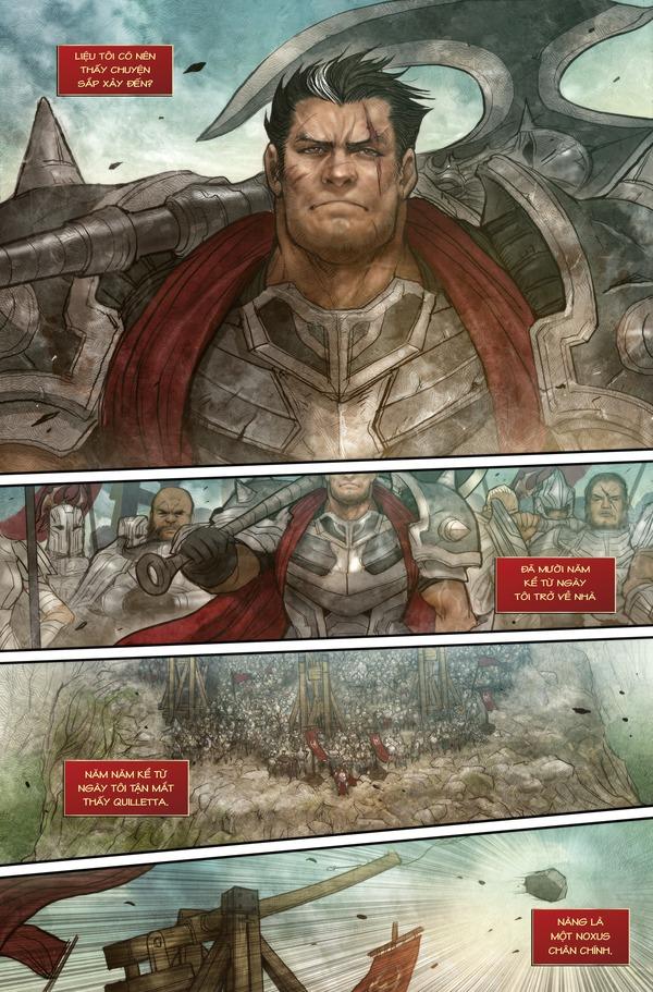 Truyện tranh Darius - Dòng máu Noxus - Hình ảnh 3