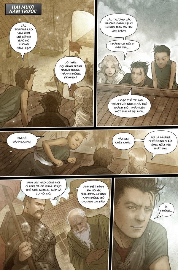 Truyện tranh Darius - Dòng máu Noxus - Hình ảnh 5