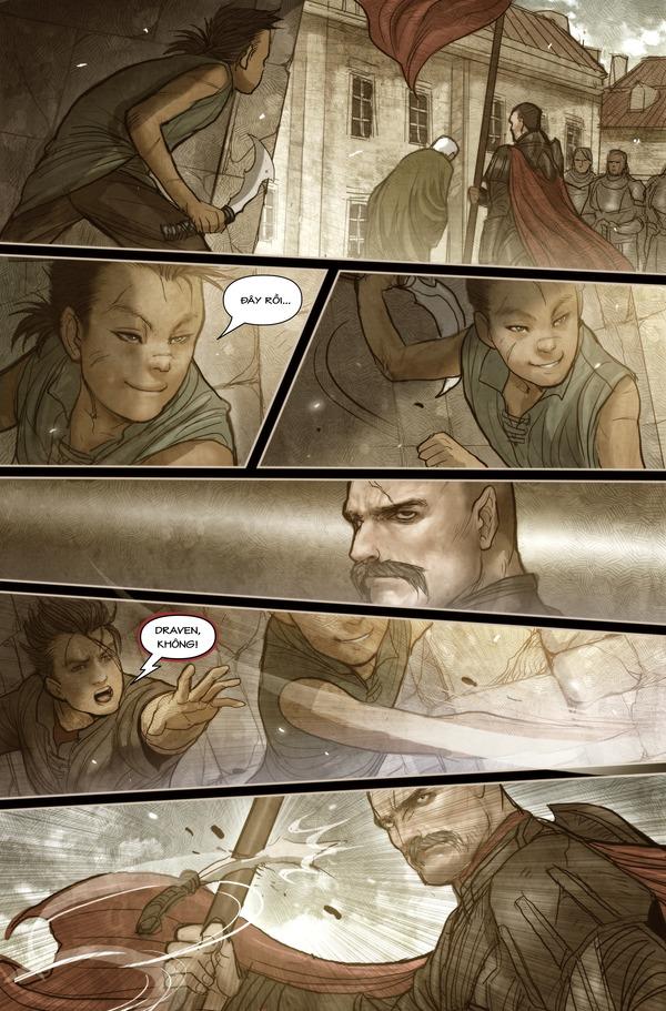 Truyện tranh Darius - Dòng máu Noxus - Hình ảnh 6