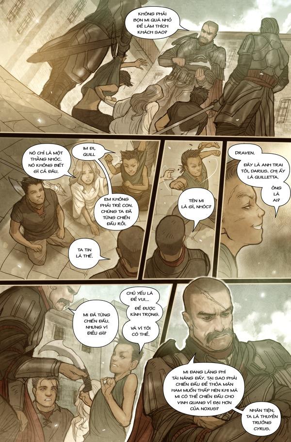 Truyện tranh Darius - Dòng máu Noxus - Hình ảnh 7