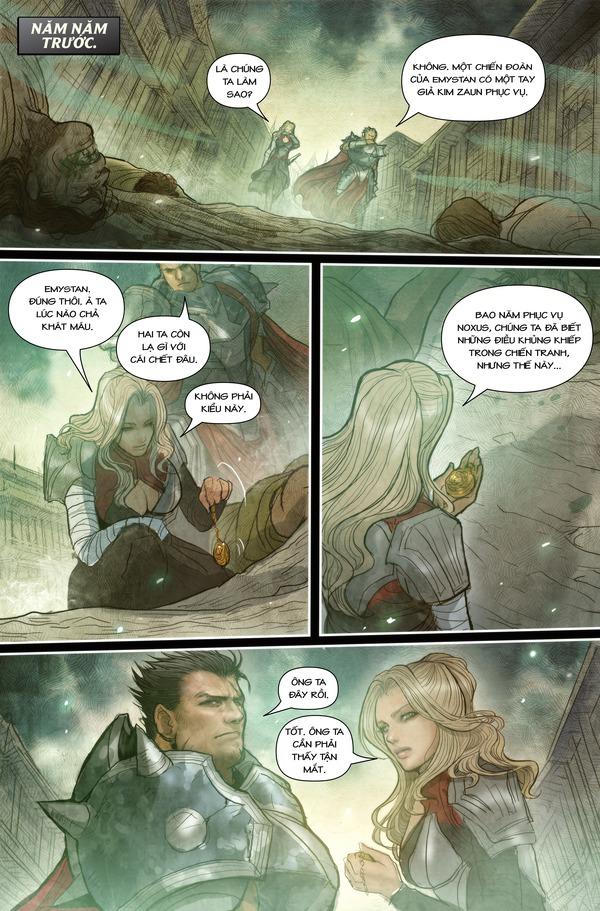 Truyện tranh Darius - Dòng máu Noxus - Hình ảnh 11
