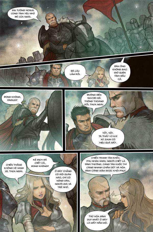 Truyện tranh Darius - Dòng máu Noxus - Hình ảnh 12