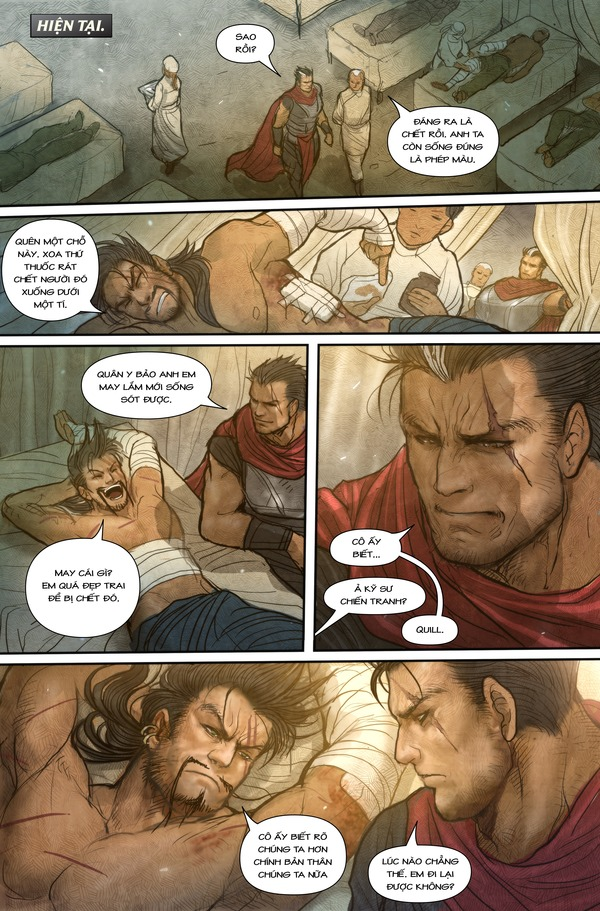 Truyện tranh Darius - Dòng máu Noxus - Hình ảnh 13