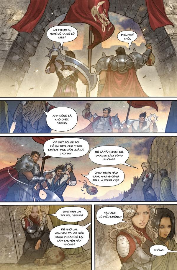Truyện tranh Darius - Dòng máu Noxus - Hình ảnh 16