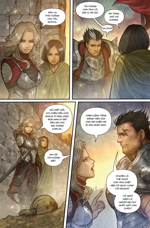 Truyện tranh Darius - Dòng máu Noxus - Hình ảnh 17