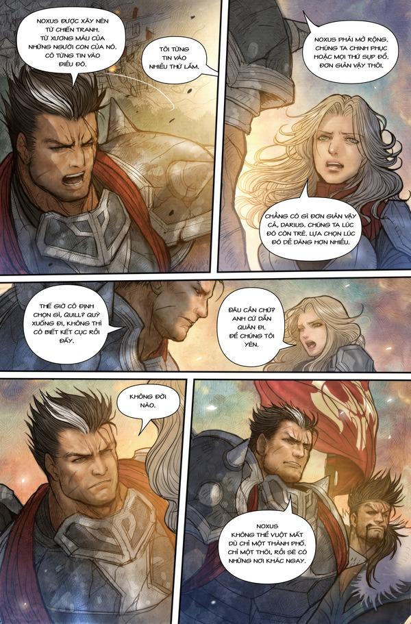 Truyện tranh Darius - Dòng máu Noxus - Hình ảnh 18
