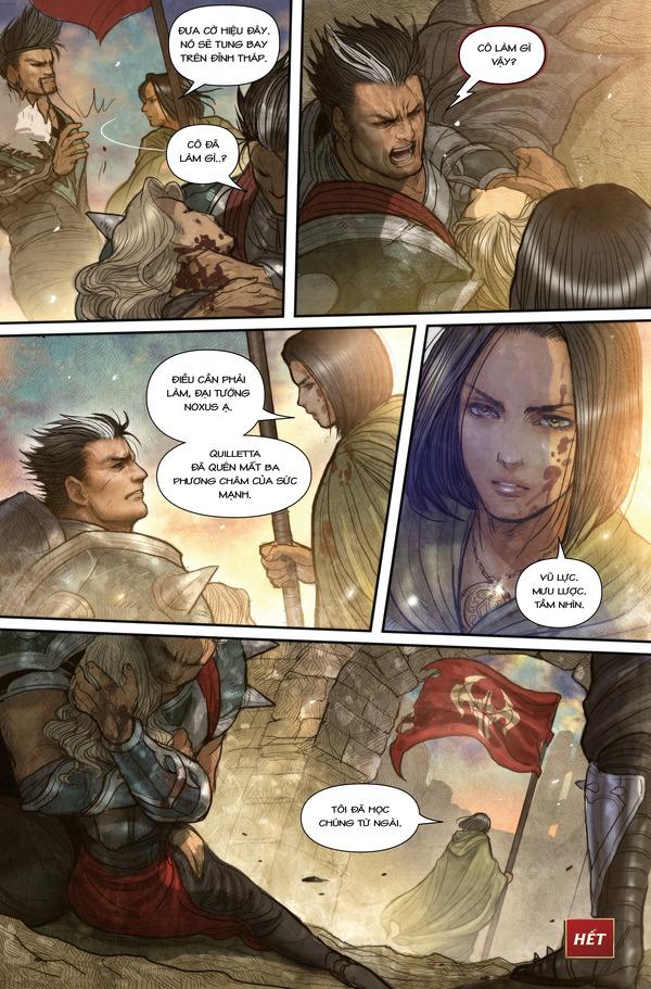 Truyện tranh Darius - Dòng máu Noxus - Hình ảnh 23
