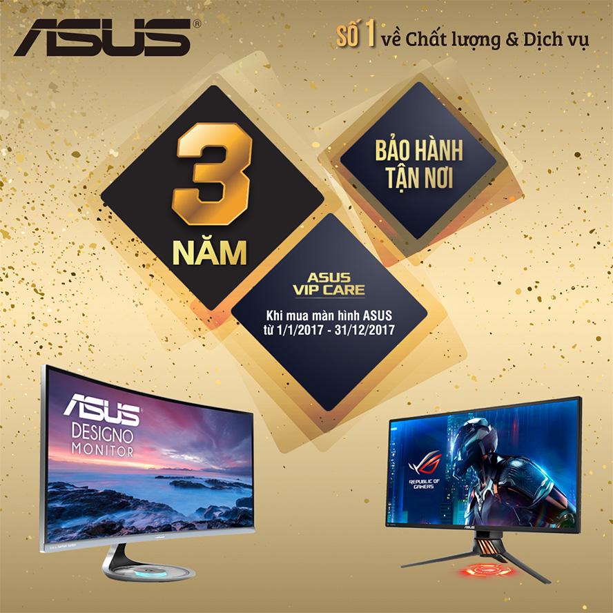 ASUS cung cấp bảo hành tận nơi cho màn hình, máy chủ, máy trạm nguyên bộ