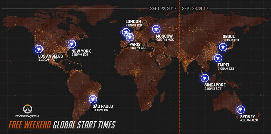 Overwatch mở cửa miễn phí từ 23/09