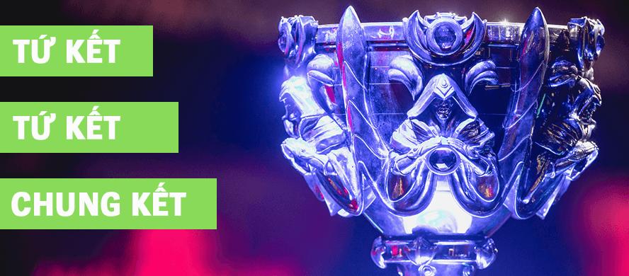 Lịch thi đấu vòng loại trực tiếp CKTG 2017