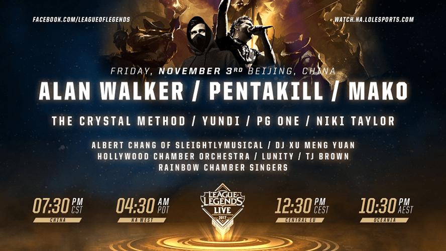 Riot Games tổ chức hòa nhạc League of Legends Live - Hình ảnh 1