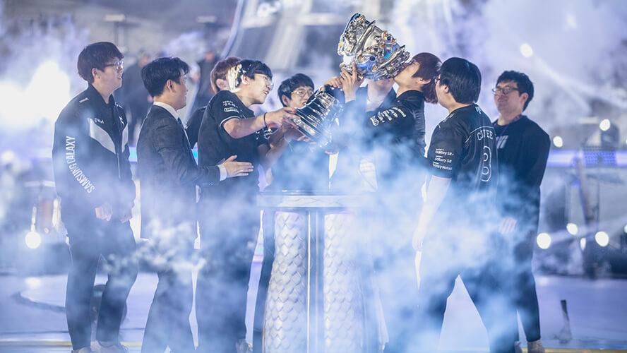 Samsung Galaxy đăng quang vô địch CKTG 2017 - Ảnh 1