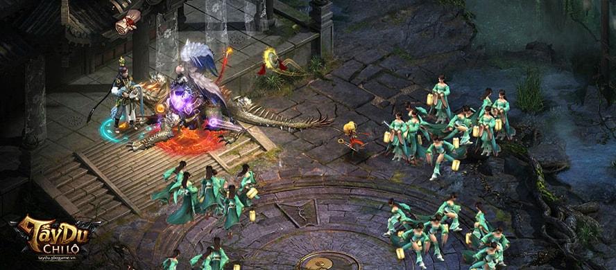 Webgame Tây Du Chi Lộ mở cửa thử nghiệm 3