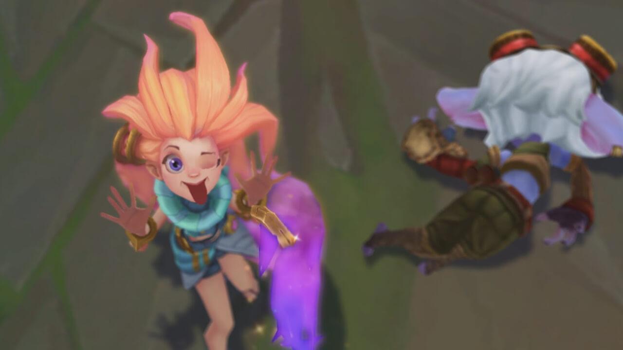 Liên Minh Huyền Thoại hé lộ tướng mới Zoe - Hình ảnh 5