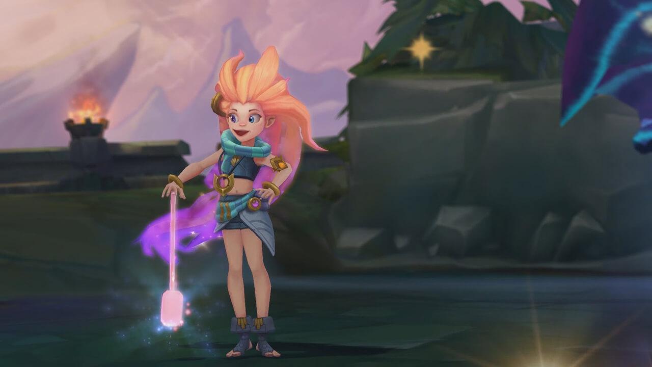 Liên Minh Huyền Thoại hé lộ tướng mới Zoe - Hình ảnh 11