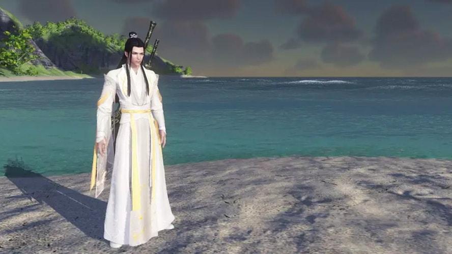 Trang phục Tâm Vương - Thí Vấn Thiên Tâm game Thiên Nhai Minh Nguyệt Đao