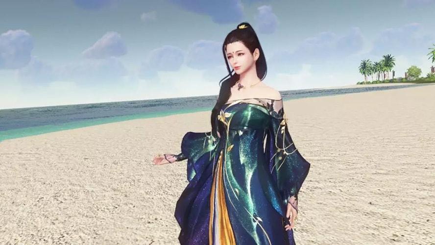 Trang phục mới Tịch Dạ Tinh Sương game Thiên Nhai Minh Nguyệt Đao